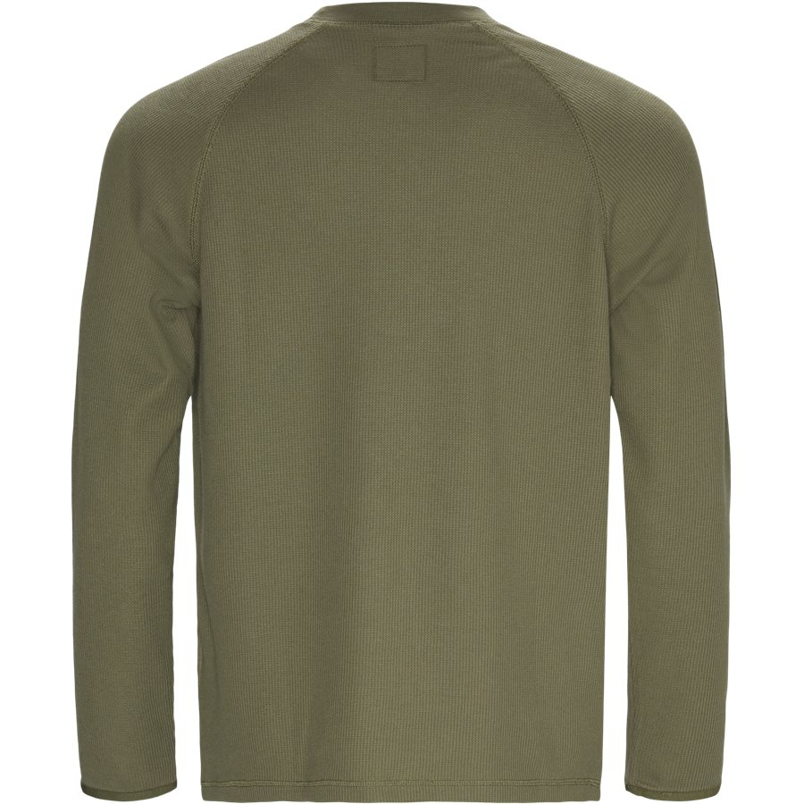 L/S LEEWARD I025152 - L/S Leeward - T-shirts - Regular - ROVER GREEN - 2